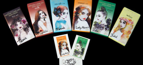 The first six Shakespeare's Ladies in Sweet Theatre's new range, six more coming soon
