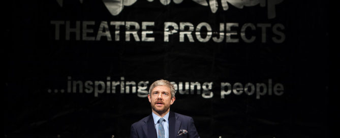 The Mousetrap winners: Martin Freeman