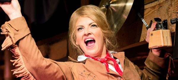 Jodie Prenger stars in Nikolai Foster's production of Calamity Jane on tour