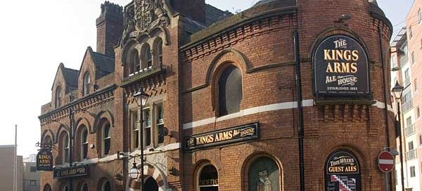 The Kings Arms offers pub theatre perfection in Salford, Greater Manchester