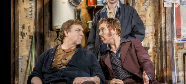 John Goodman, Damian Lewis and Tom Sturridge American Buffalo, Wyndham's Theatre, London