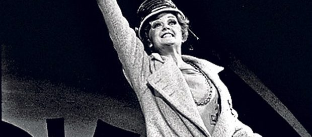 1973: Angela Lansbury, in her last London stage appearance prior to Blithe Spirit in 2014, starred as Rose at the West End's Piccadilly Theatre, in a cast that also included Bonnie Langford as Baby June