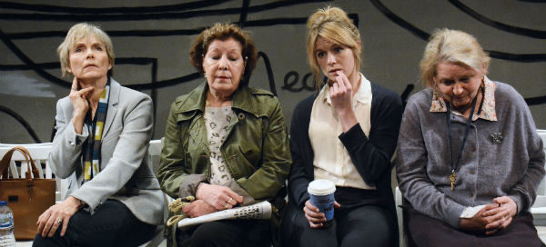 Lucy Fleming, Roberta Taylor, Olivia Llewellyn and Tessa Bell-Briggs in As Good a Time as Any