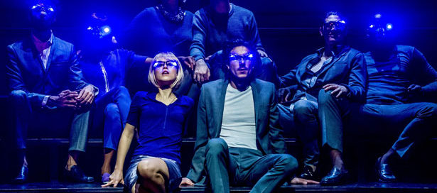 Olivia Morgan and Scott Karim in Brave New World, touring until 5 December 2015