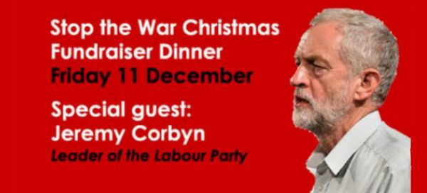 Jeremy Corbyn attended Stop the War's Christmas party... at the same restaurant where my local Labour constituency had our Christmas party