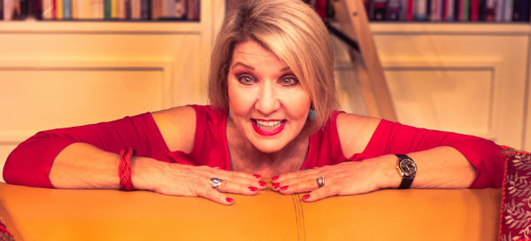 Amanda Muggleton in The Book Club at London's King's Head Theatre
