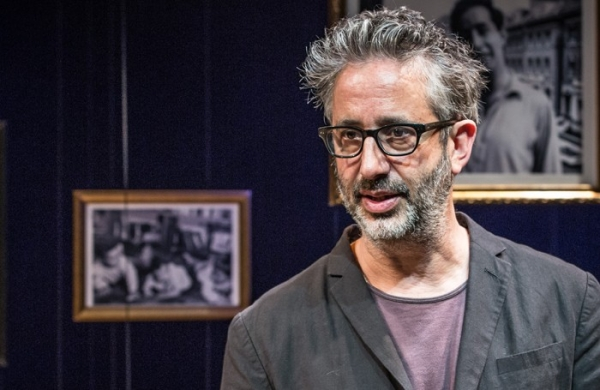 David Baddiel uses Twitter to guide his storytelling in My Family: Not the Sitcom at the Playhouse