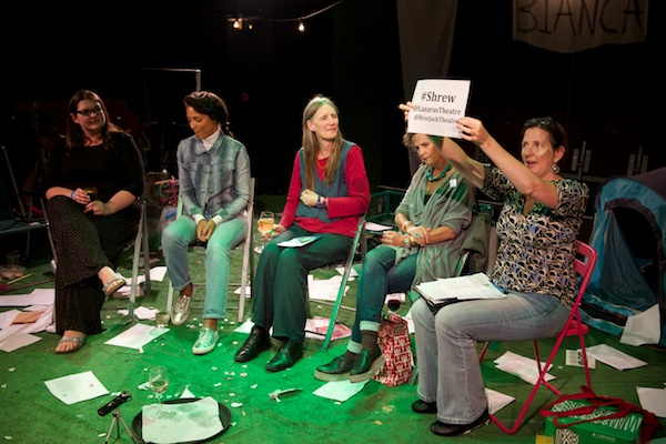 My first all-female panel: Talking gender politics with Lazarus Theatre and guests