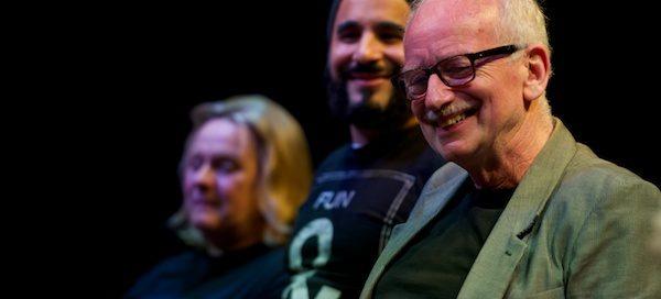 Joanne Pearce, Ameet Chana & Ian McDiarmid at What Shadows Q&A at London's Park Theatre