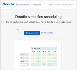 Scheduling made ridiculously easy