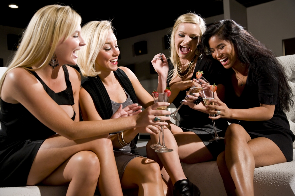 Girls' nights out are good for the soul but bad for the inbox