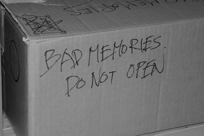 Bad memories: It's okay to open but don't sift through it for more than 90 seconds