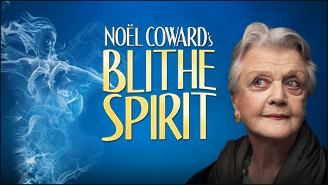 Angela Lansbury conjures up a hit in Blithe Spirit at the West End's Gielgud Theatre, London