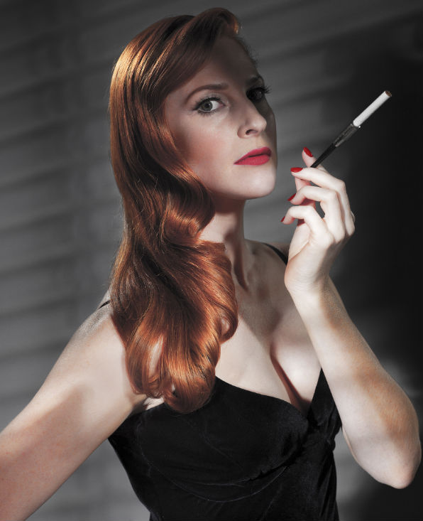 Rosalie Craig channels Rita Hayworth in City of Angels, directed by Josie Rourke at the Donmar Warehouse