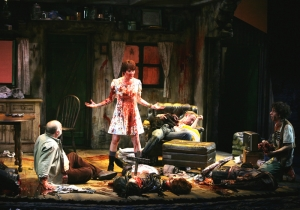 Martin McDonagh had multiple corpses dismembered in The Lieutenant of Inishmore in the West End in 2002