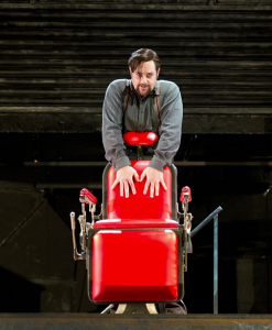 Sweeney Todd, 2012: Michael Ball's barber's chair got even redder after a close shave