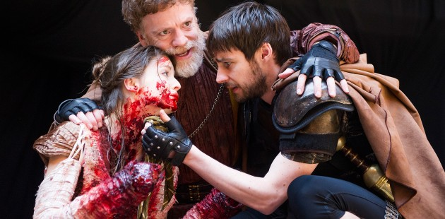 Theatregoers are fainting at most performances of Titus Andronicus at Shakespeare's Globe