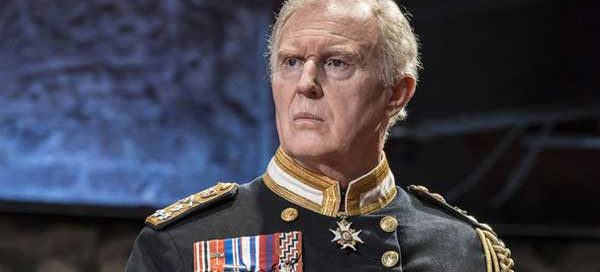 Tim Pigott-Smith as King Charles III at Wyndham's Theatre, London's West End, September 2014