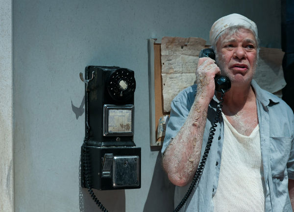 Matthew Kelly in Richard Bean's Toast at the Park Theatre, London, September 2014