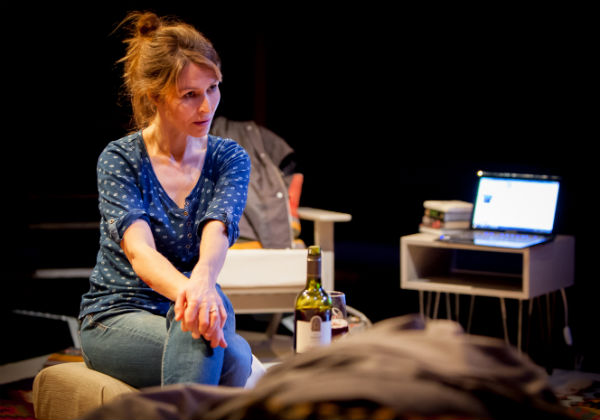 Helen Baxendale in The Distance at the Orange Tree Theatre, London