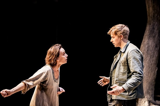 Kristin Scott Thomas and Jack Lowden in Electra at the Old Vic Theatre, London