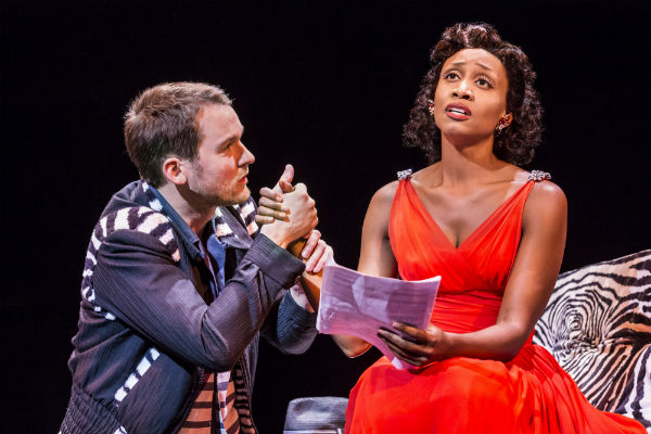 Killian Donnelly and Beverley Knight in Memphis at the Shaftesbury Theatre, London