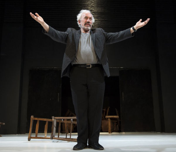 The Man Jesus, starring Simon Callow, comes to the West End's Lyric Theatre for one night only on 6 October 2014