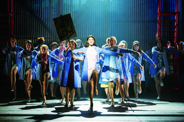 Gemma Arterton leads the strikers in Made in Dagenham at the West End's Adelphi Theatre, London