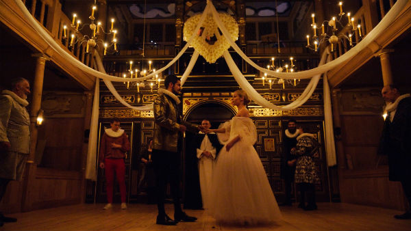 The company of 'Tis Pity She's a Whore at the Sam Wanamaker Playhouse, Shakespeare's Globe 2014