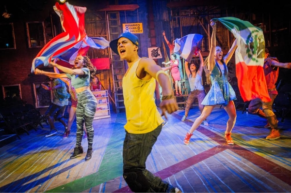 In the Heights at Southwark Playhouse in 2014