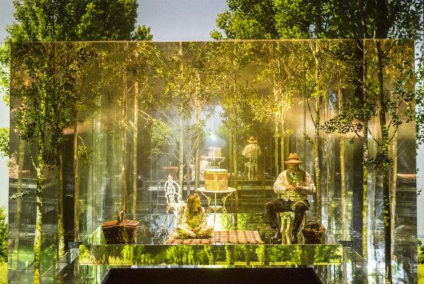 BEST DESIGNER: Es Devlin for The Nether - Royal Court Theatre