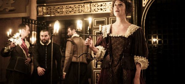 Hattie Morahan in The Changeling at the Sam Wanamaker Playhouse, Shakespeare's Globe, London