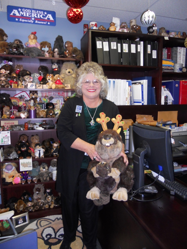 World record-breaking collector for Beaver items