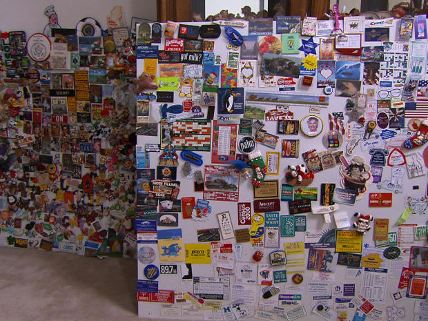 World record-breaking collector for Fridge magnets