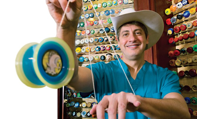 World record-breaking collector for Yo-yos