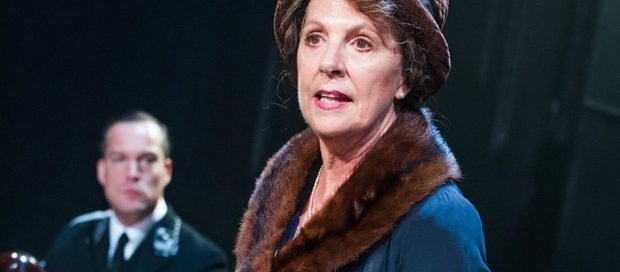 Penelope Wilton and John Light in Taken at Midnight at the Theatre Royal Haymarket, London's West End