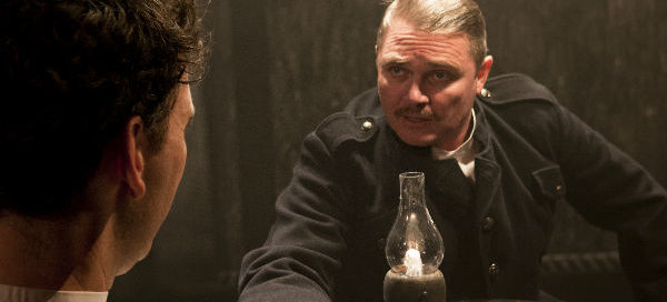 Robert Wilfort and Alex Ferns in The Father. Photos: Simon Annand