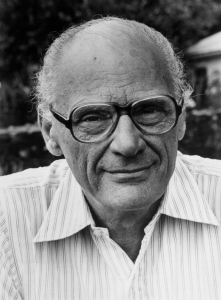 Arthur Miller gave the World Theatre Day message in 1963