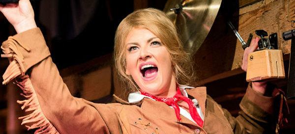 Jodie Prenger stars in Nikolai Foster's production of Calamity Jane on tour