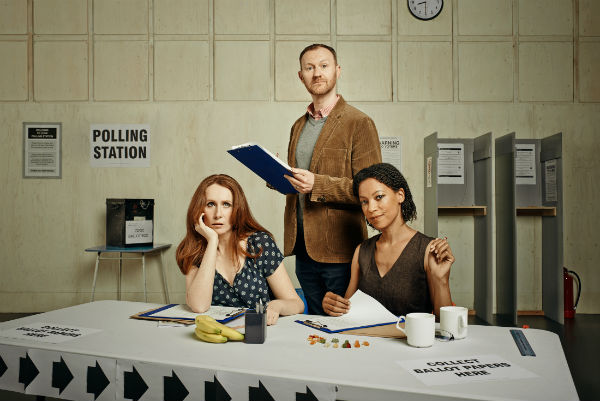 Catherine Tate, Mark Gatiss and Nina Sosanya are part of stellar, far-flung ensemble for The Vote, care of the Donmar and Channel 4