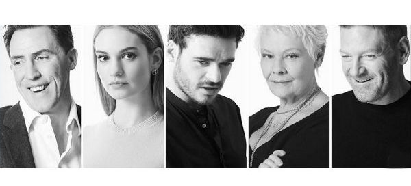 """Kenneth Branagh's """"Plays at the Garrick"""" stars Rob Brydon, Lily James, James Madden, Dame Judi Dench and Branagh himself. © Johan Persson"""