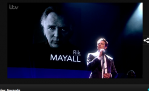 Rik Mayall remembered at Oliviers