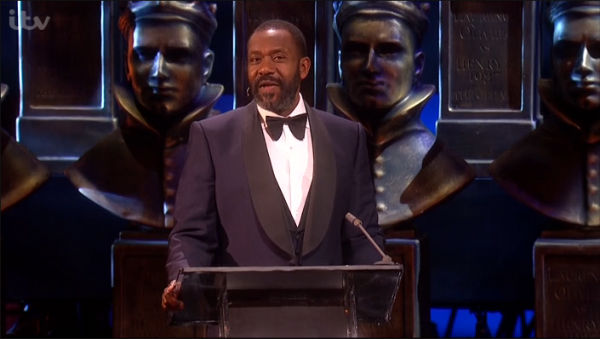 Lenny Henry hosted the 2015 Laurence Olivier Awards at the Royal Opera House, 12 April 2015