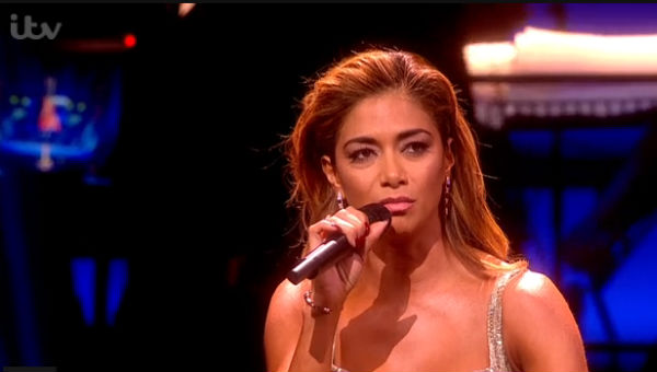 Nicole Scherzinger performed her Memory solo at the Oliviers