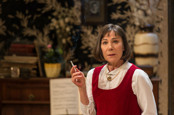 Zoe Wanamaker plays poet Stevie Smith in Stevie at Hampstead Theatre, London, 2015