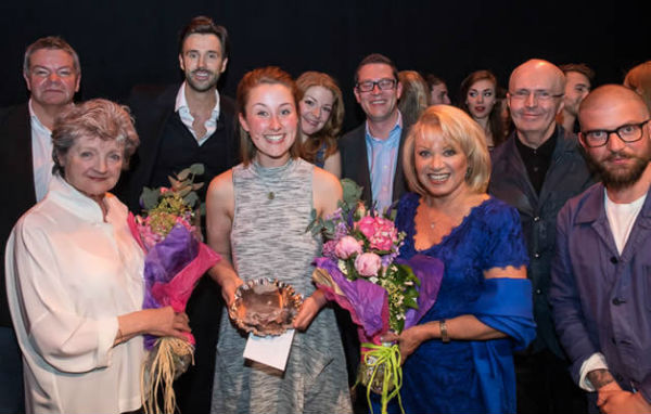 Erin Doherty was awarded the Stephen Sondheim Student Performer of the Year award by judges including Elaine Paige and Julia McKenzie. © all photos David Ovenden