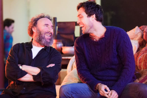 Antony Sher and Alex Hassall as ... themselves. In rehearsals for the RSC