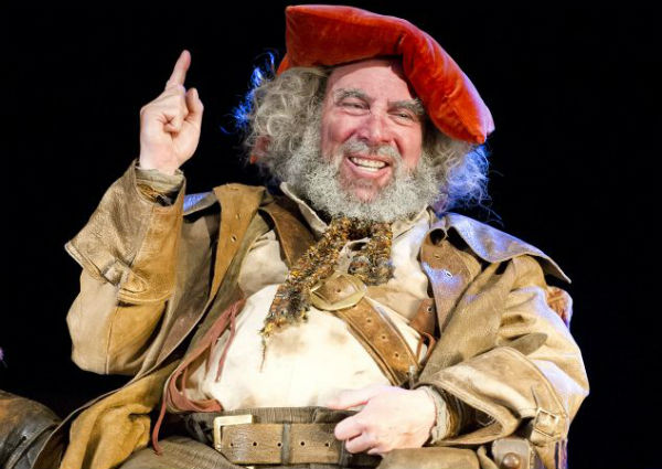 Antony Sher as Falstaff in Henry IV, Parts 1 & 2 for the RSC, Stratford-upon-Avon 2014. © Tristram Kenton