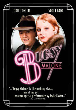 The 1976 film poster for Bugsy Malone