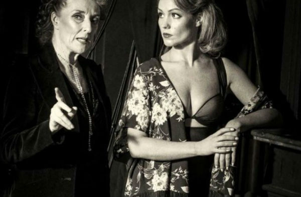 Judith Paris and Susannah Allman in In the Dead of Night at London's Landor Theatre, May 2015.